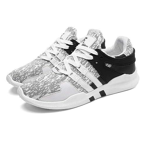 Beladla Zapatillas Deporte Hombre Zapatos para Correr Athletic Cordones Air Cushion Zapatos De Red Zapatillas De Deporte: Amazon.es: Zapatos y complementos