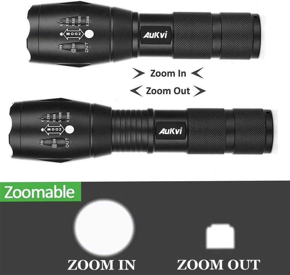 TP 360 Pro Tactical Lampe de poche DEL Lumière Achetez 3 Obtenez 1 Gratuit