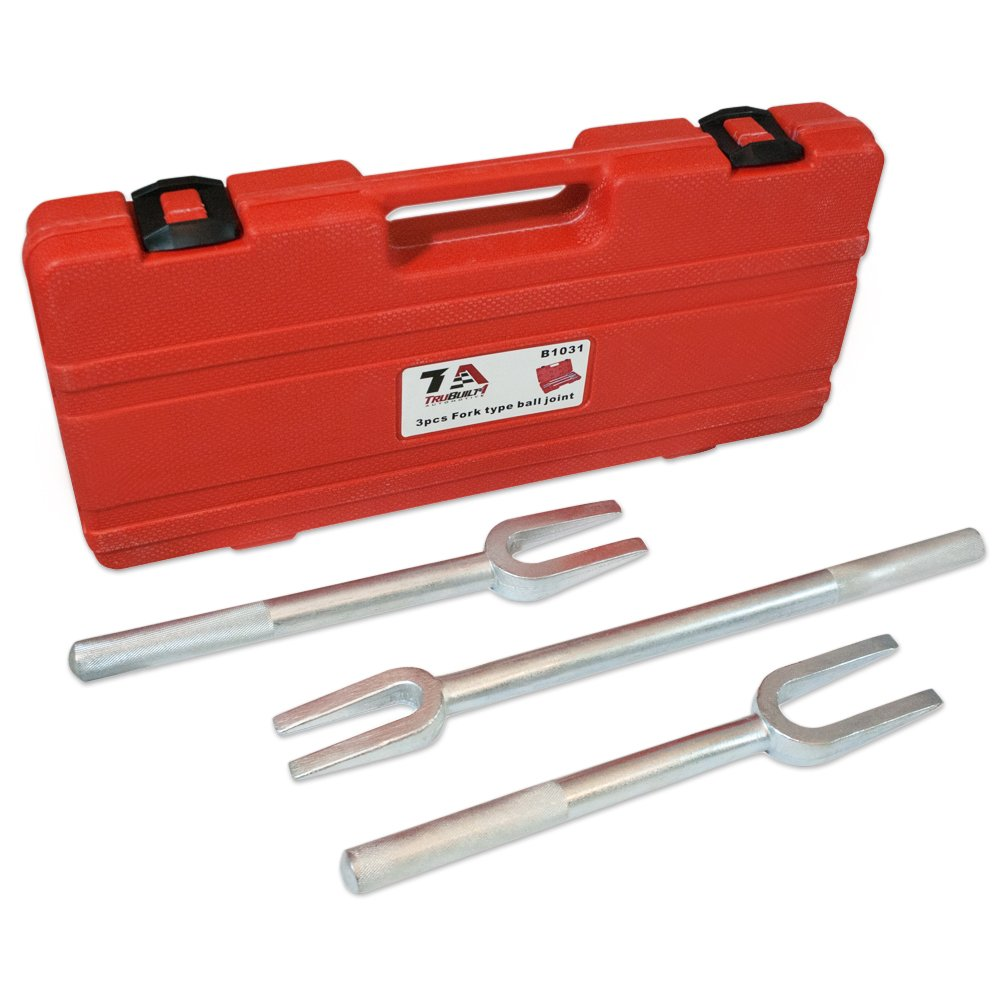 T1A Pickle Fork Set for Separating Ball Joints Tie Rods Pitman Arms and Other Linkages (3 Piece) TruBuilt 1 Automotive