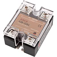 uxcell ASH-25DA Solid State Relay 3-32VDC to 24-480VAC 25A Single Phase SSR DC to AC Relay, Authorized