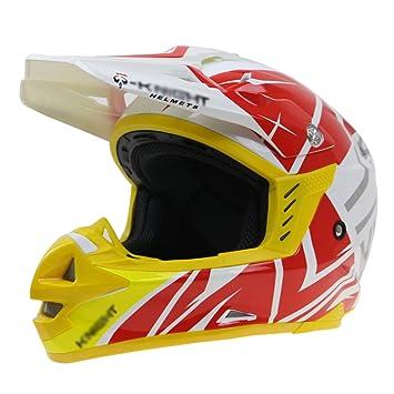 SHANLY ECE/Dot Aprobado para Adultos Racing Motocross Open Face Helmet Cascos De Cara Completa