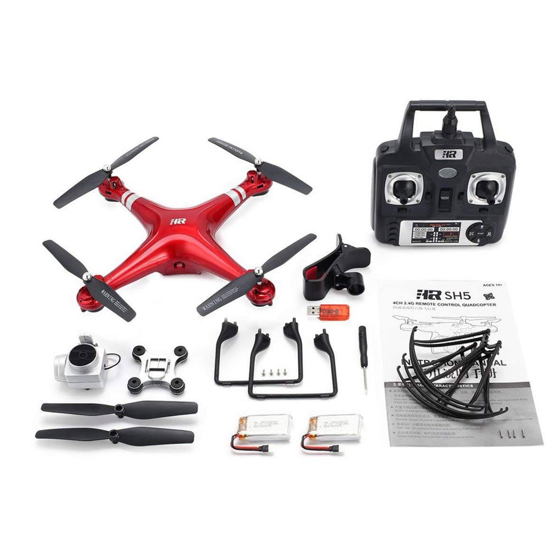 Harlls SH5H 2,4g FPV Drohne mit 720p HD WiFi-Kamera Live-Video Headless-Modus-Schwerkraft-Sense-Return-Taste RC Quadcopter