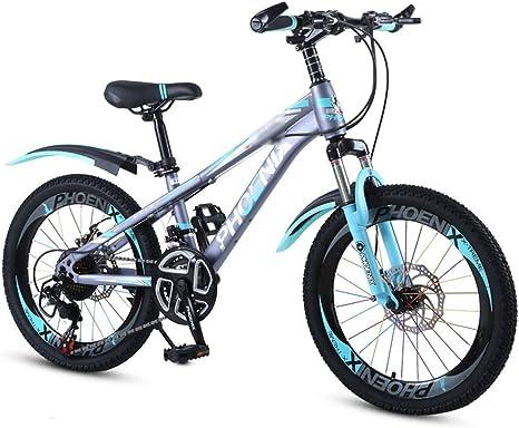 WJSW Niños en Edad Escolar Bicicleta 18 Pulgadas 20 Pulgadas Niño ...