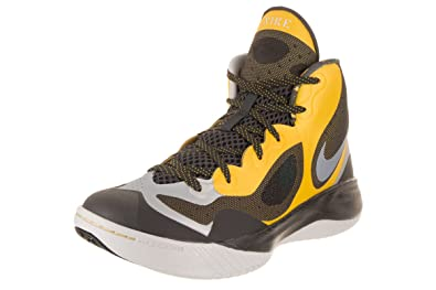 5a41ec8614e3 Nike Men s Hyperfranchise XD Basketball Shoe Yellow Black Platinum Size 11