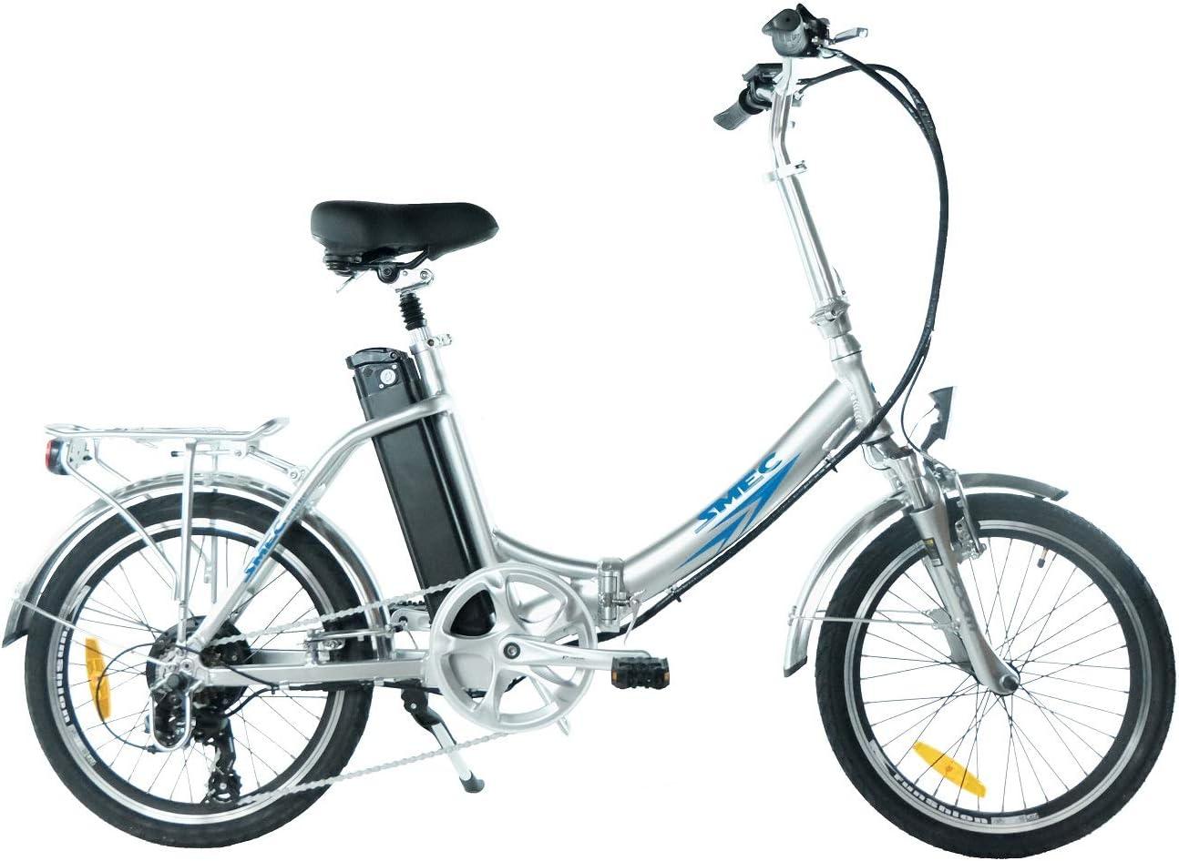 20 Pulgadas swemo aluminio – E-Bike/pedelec SW200 Modelo 2016 nuevo, color - plata, tamaño 20 pulgadas (50,8 cm), tamaño de rueda 20.00 inches: Amazon.es: Deportes y aire libre