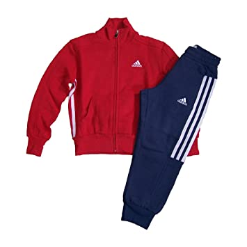 Adidas Kinder Trainingsanzug aus Baumwolle, Bitte Größe