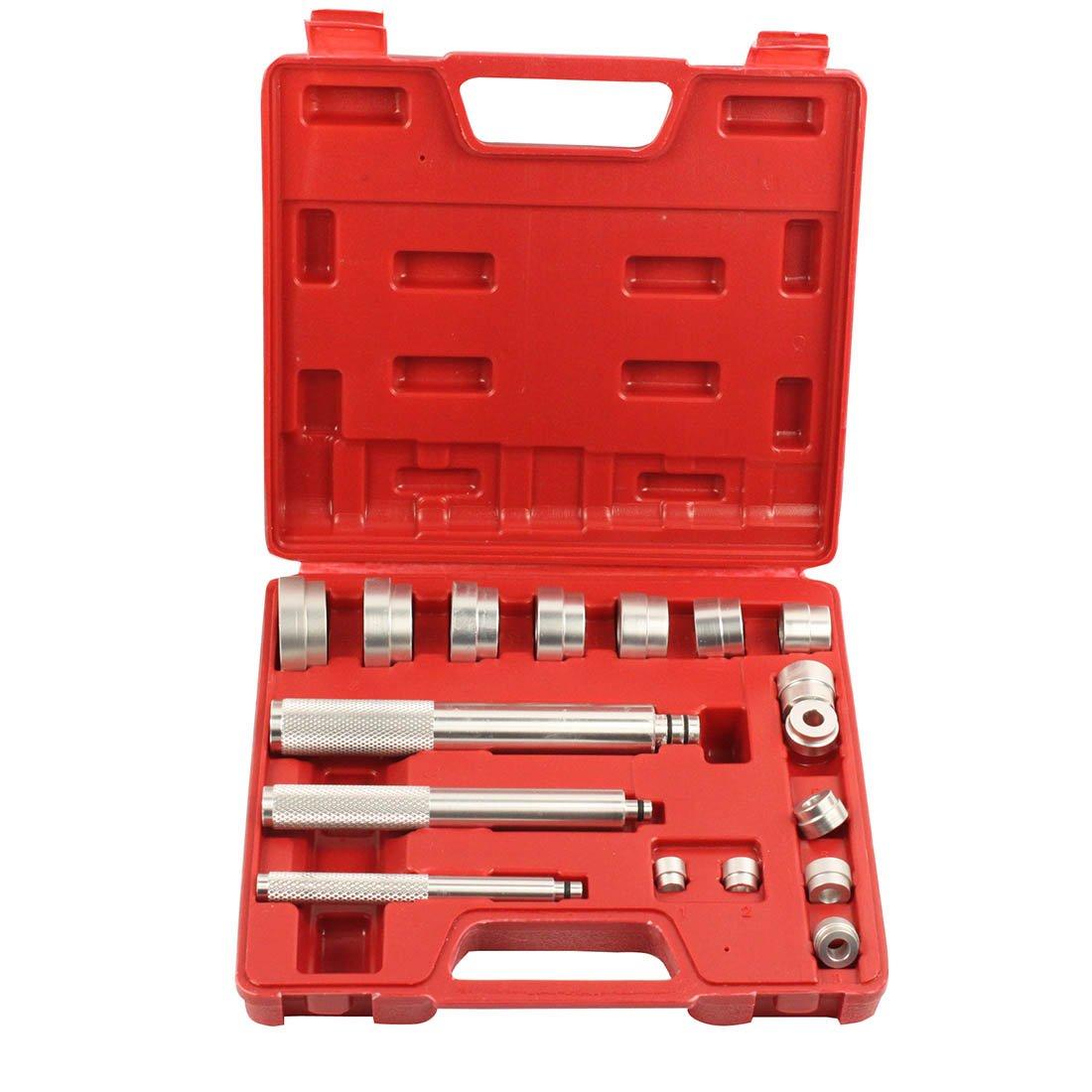 Ctool 17 Pieces Aluminium Bearing Seal Drivers Removal Tool and Bushing Driver Set WSTOOL
