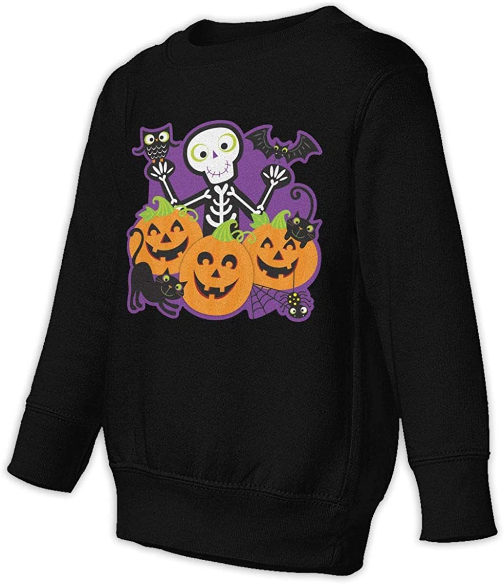 wudici Halloween Party Boys Girls Pullover Sweaters Crewneck Sweatshirts Clothes for 2-6 Years Old Children