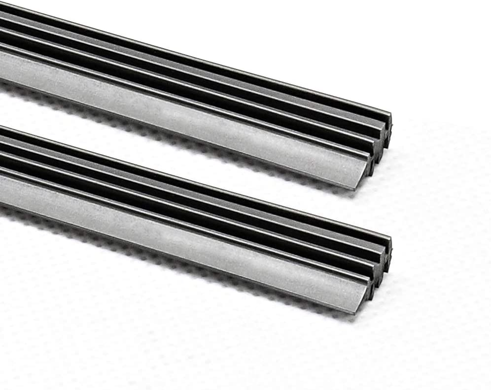 ASLAM Wiper Blade Refills 6mm for Frameless Windshield Wipers 28,Cut to Size Set of 4