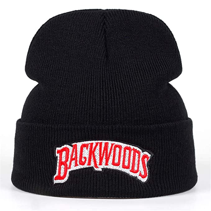 9c61bbc1176ff Beanie Brand Backwoods Letter Knitted Winter Hat Cotton Men Women Knitted  Winter Hat Hip-Hop