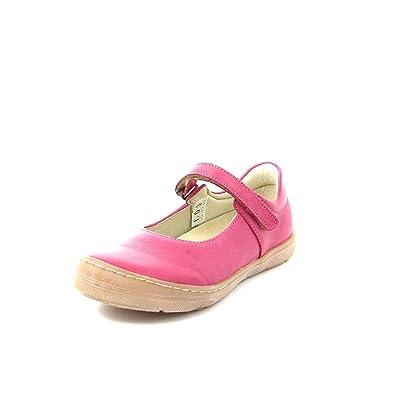 51c5ac77cfa Froddo Ballerina Shoe Infant Fuchsia G3140042, Soft Leather Girls Flat Shoe  Kids EU 25/