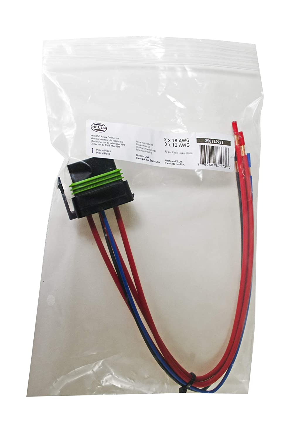 relay wiring diagram 7234 wiring library amazon com hella h84709001 iso weatherproof relay connector 12 leads automotive