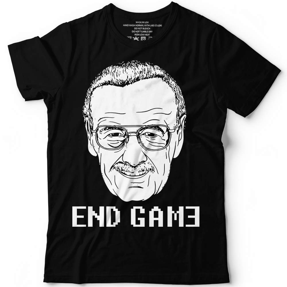 Stan Lee End Game Respect The Legend Customized Handmade T Shirt Tank T