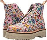 Dr. Martens Women's Sinclair Wanderlust Bone/Mallow Pink Wanderlust Fine Canvas 9 M UK