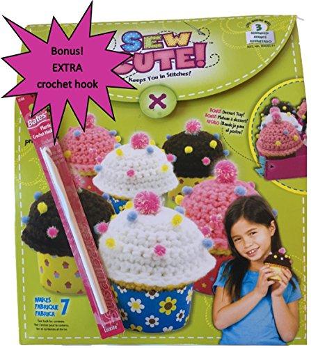 Best Cupcake Crochet Starter Kit With Bonus Crochet Hook Great