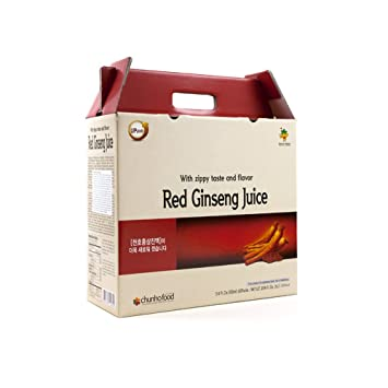 Amazon.com: El ginseng rojo Jugo 100% Natural chunho de ...