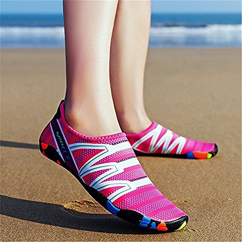 Shoes Sports Quick Water Socks Womens Barefoot Rose Mens Dry Shoes Aqua Water O7qEx00w