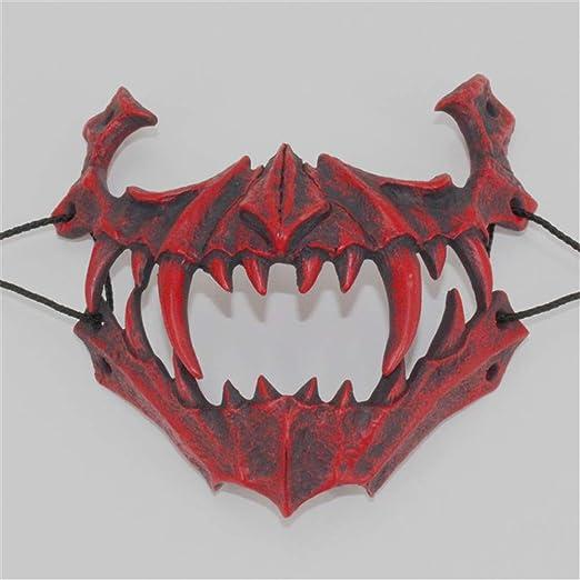SXFMJ Máscara de Halloween Máscara de Resina Segundo Elemento ...