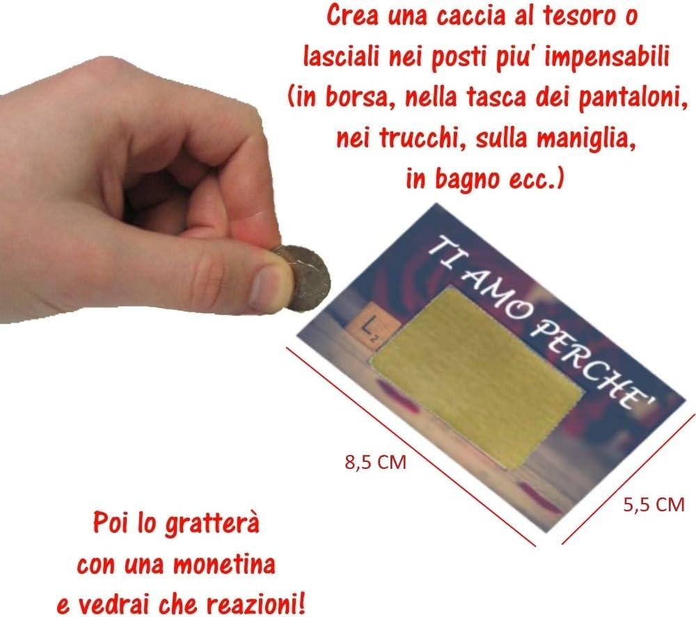 Gratta E Vinci Personalizzato Degli Innamorati 6 Biglietti