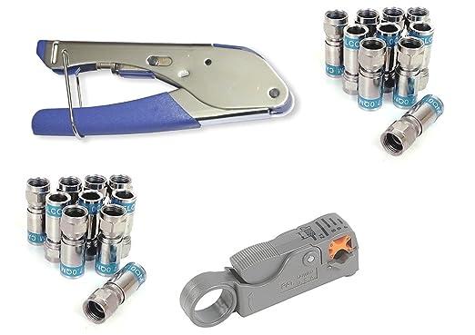 Juego de pinzas de compresión de Cabelcon CX3 Pocket Tool + ...