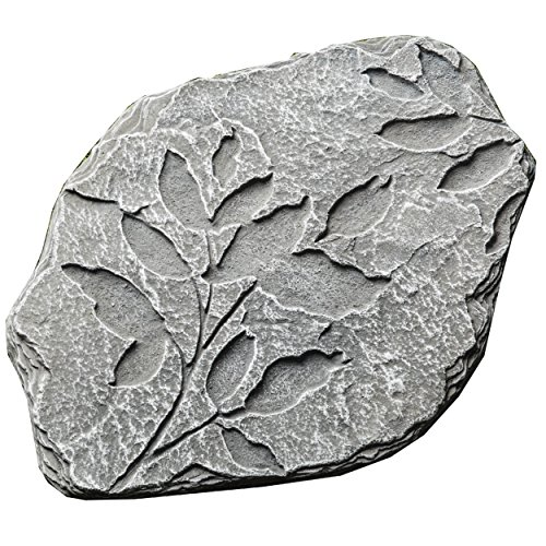 Prinz Pattern Potting Shed LEAVES Stepping Stone