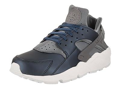 Nike Damen Air Huarache Run PRM TXT Gymnastik Schuhe, Cool Grey MTLC Armory  NVY b44868036f