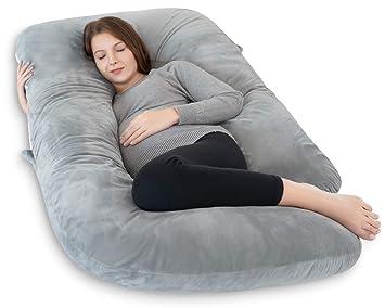 Amazon.com: INSEN Almohada de embarazo de cuerpo completo ...