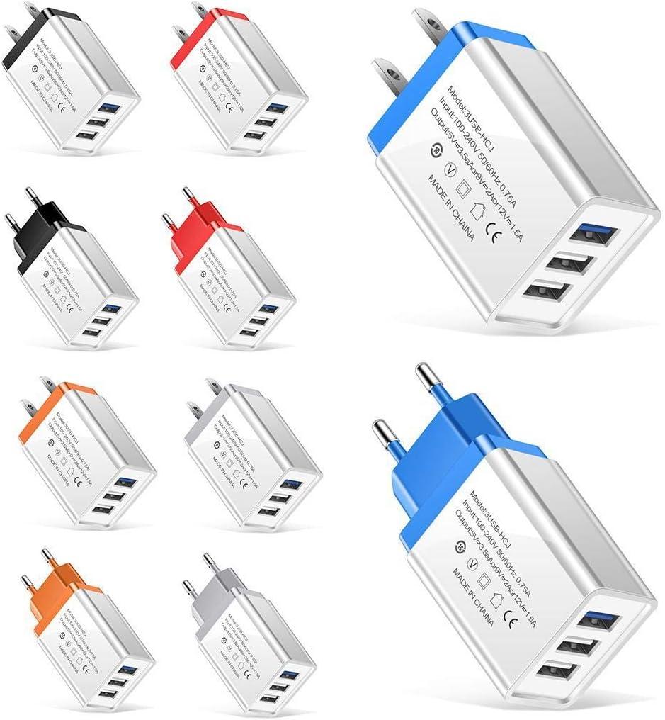 Cargador Kloius con 3 puertos USB (5 colores) por sólo 3,99€ usando el #código: FJRWLS2A