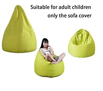 QuWei Childrens Bean Bags Chair DIY Comfortable Mini Sofa Indoor/Outdoor  Soft Floor Cushion For