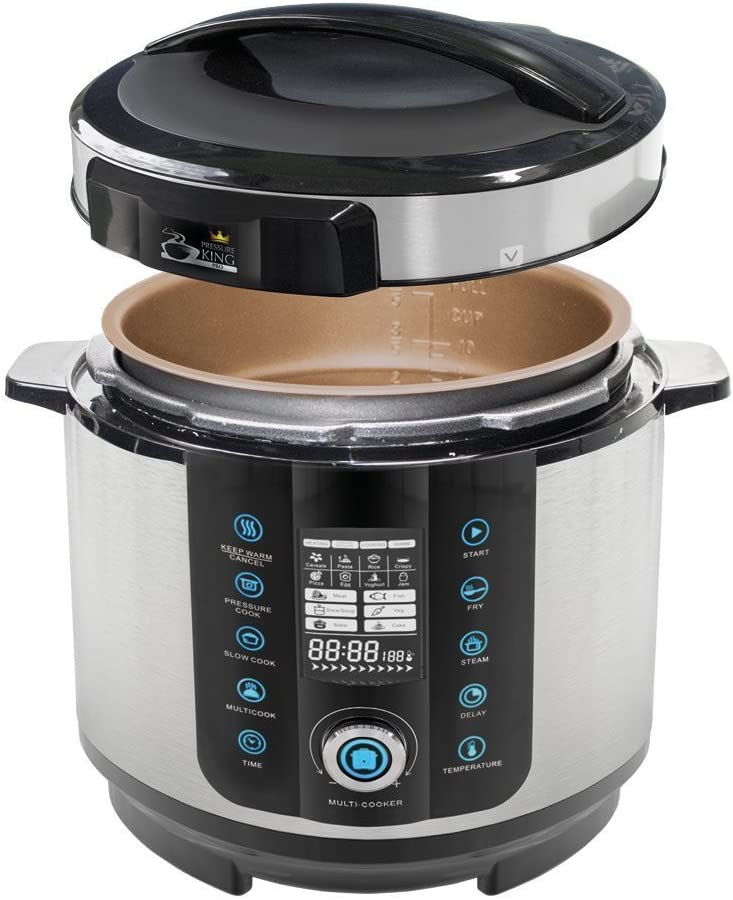 BOTOPRO - Pressure King Pro 6L, el Robot de Cocina 20 en 1 ...