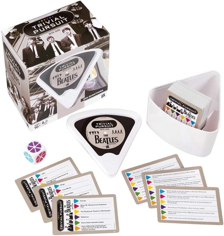 Beatles Trivial Pursuit Bite Size Board Game: Amazon.es: Libros en idiomas extranjeros