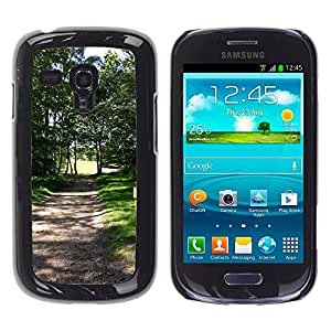 Hot Style Cell Phone PC Hard Case Cover // M00308616 Golf Golf Course Green Grass // Samsung Galaxy S3 MINI i8190