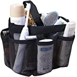 Quick Dry Mesh Shower Caddy, Hanging Shower Tote Bag Toiletry Bath Organizer Makeup Comestic Storage Bag Basket with 11…