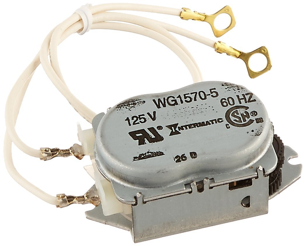 Intermatic WG1570-10D 125V 60-Hertz Replacement Time Clock Motor for T100, T170, T100R201, T1400, T100-20 and WH Series