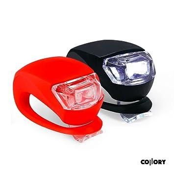 Juego de miniluces led de silicona con pilas incluidas de Collory, para iluminación de cochecito, luces ...