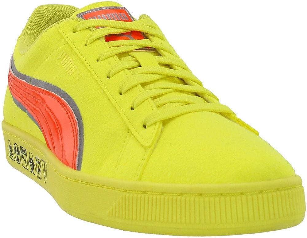 PUMA Mens Suede Hazard Casual Sneakers