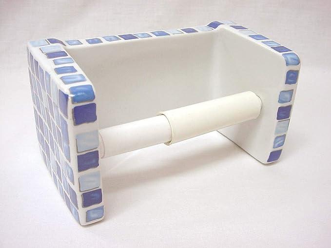 poliestireno, azul oscuro, 30/x 20/x 15/cm MSV 141904/ /Portarrollos