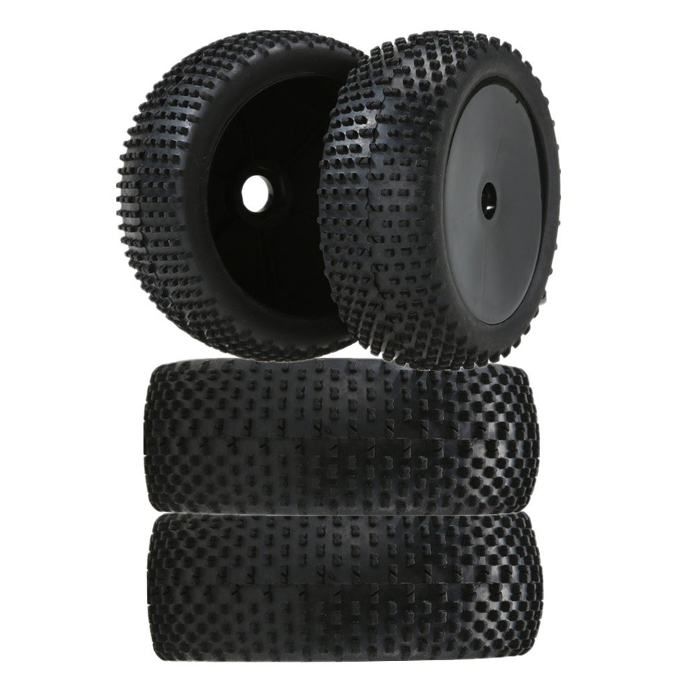Homyl 4pcs 1/8 Buggy On-Road Tire Tyre RC Ruedas para Redcat HSP FS Racing Coche Accesorios de Recambio: Amazon.es: Juguetes y juegos