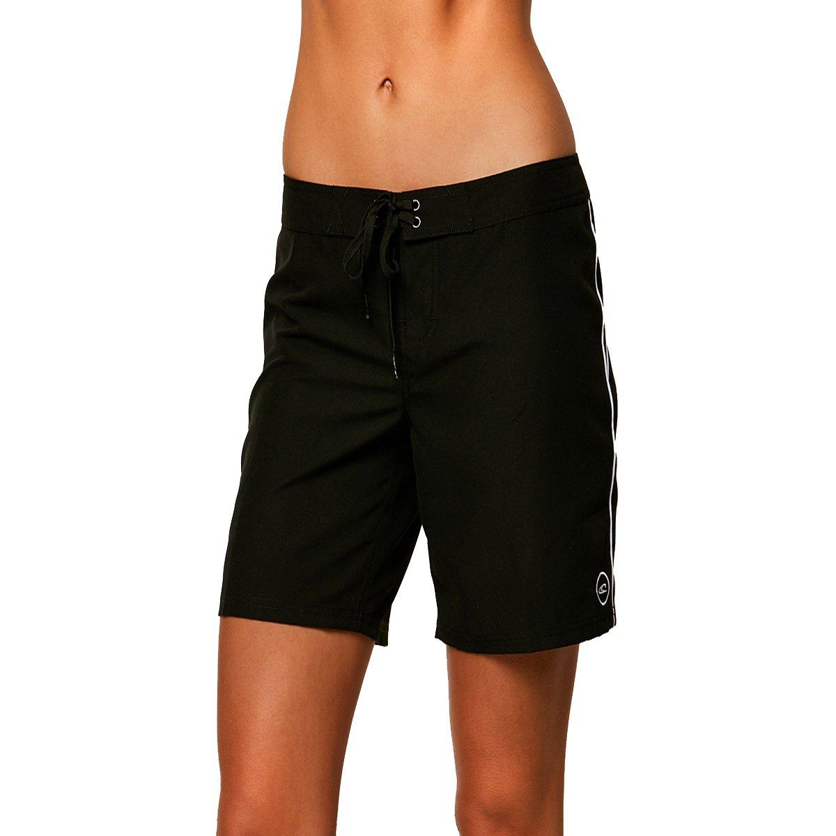 O'Neill Women's Salt Water 7'' Boardshort, Black, 9