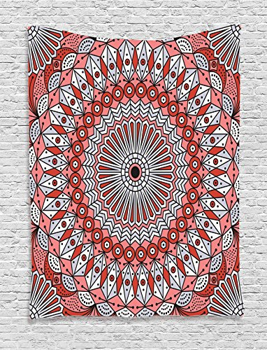 Ambesonne Moroccan Collection Patterned Arabesque