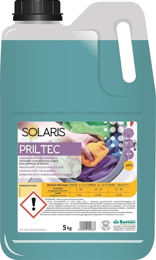 priltec líquido profesional Lavadora Concentrado Enzimatico ...