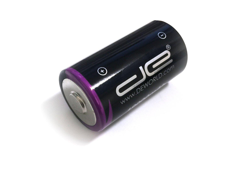 DE TL2300 TL-2300 Size D 19Ah 3.6V Lithium Thionyl Chloride LiSOCL2 Battery