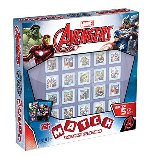 Marvel Avengers Top Trumps Match Board Game]()