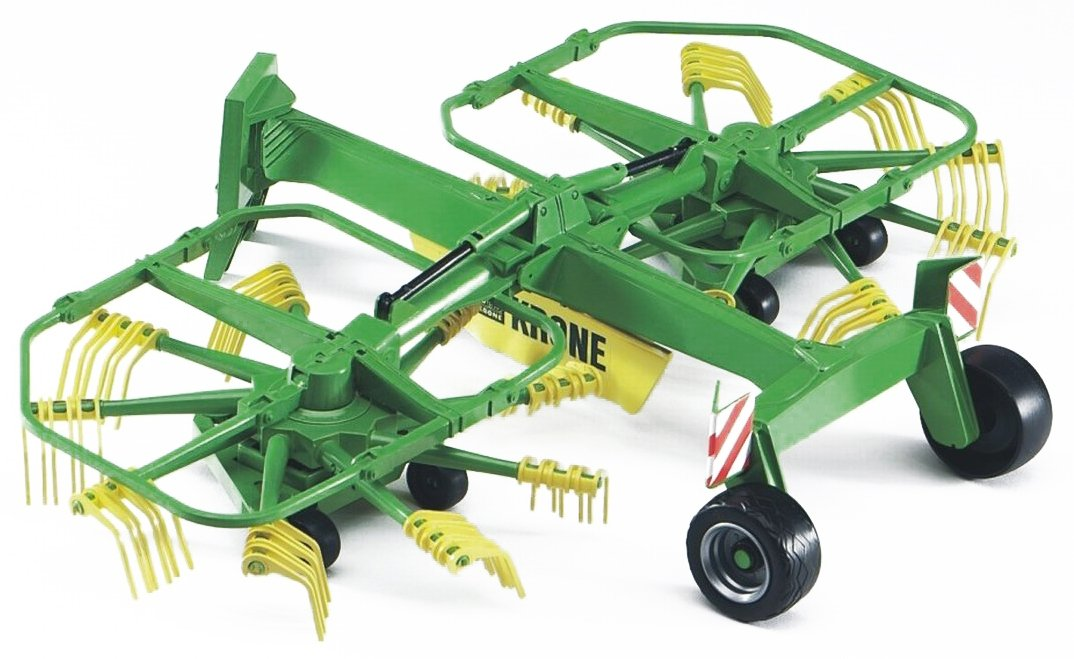 02216 Krone Dual-Rotary Swath Windrower Bruder 3to4 5to8 Vehicles