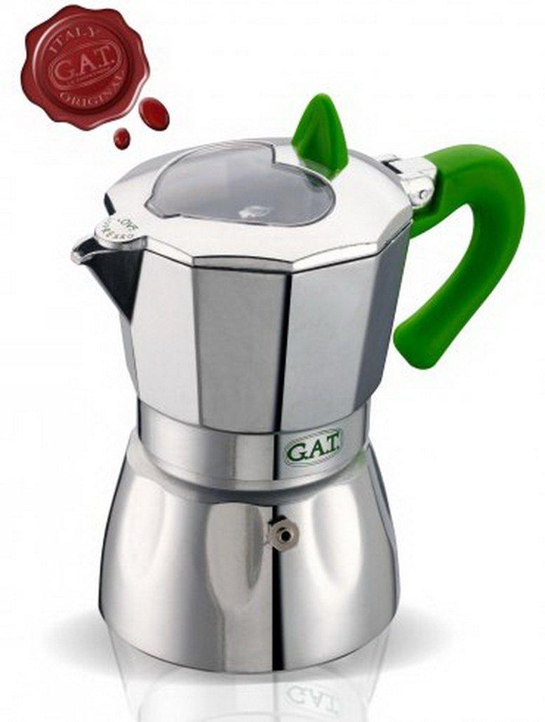 Caffettiera Espresso (2Tazze, Verde) GAT EV2