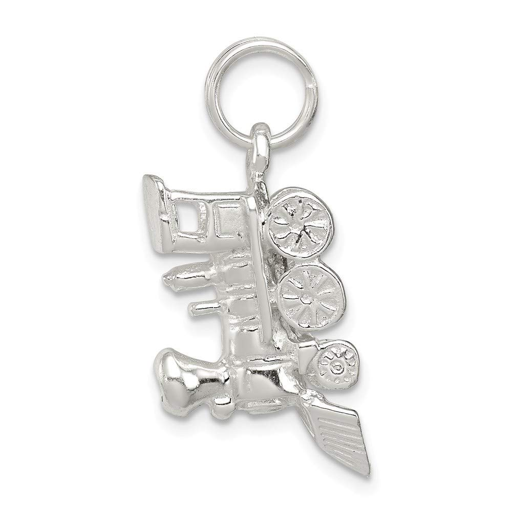 Roy Rose Jewelry Sterling Silver Train Engine Charm