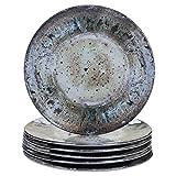 Certified International Radiance Cream Melamine 8.5''Salad/Dessert Plate, Set of 6