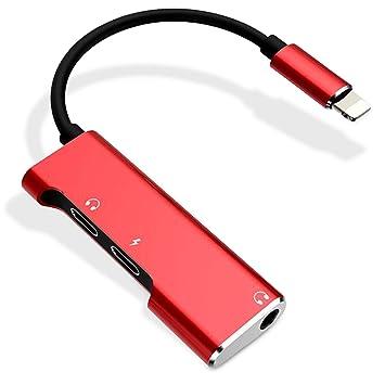 Amazon.com: Adaptador divisor 3 en 1 dual con conector de ...