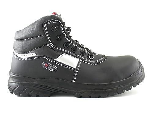 4walk Silexecoplus S3 - Botas de Seguridad Puntera Composite - Negro - Talla 36