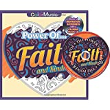 Power of Faith Adult Coloring Book With Bonus Relaxation Music CD Included: Color With Music